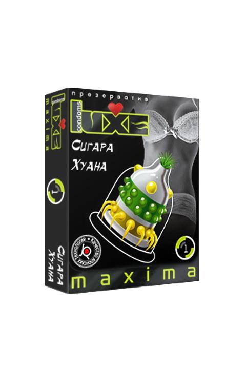 Презервативы Luxe Maxima Сигара Хуана №1, Категория - Презервативы/Рельефные и фантазийные презервативы, Атрикул 0T-00010913 Изображение 2