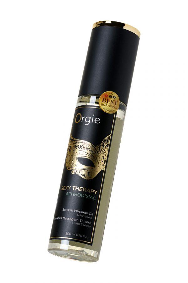 Минеральное массажное масло Orgie Sexy therapy afrodisiac, 200 мл, Категория - Интимная косметика/Средства для массажа/Гели и масла, Атрикул 0T-00012908 Изображение 3