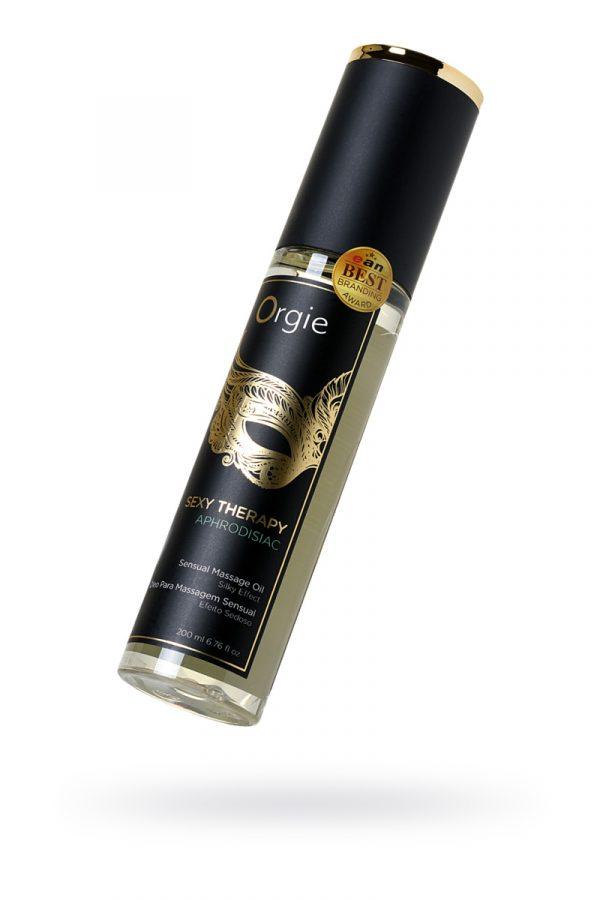 Минеральное массажное масло Orgie Sexy therapy afrodisiac, 200 мл, Категория - Интимная косметика/Средства для массажа/Гели и масла, Атрикул 0T-00012908 Изображение 1