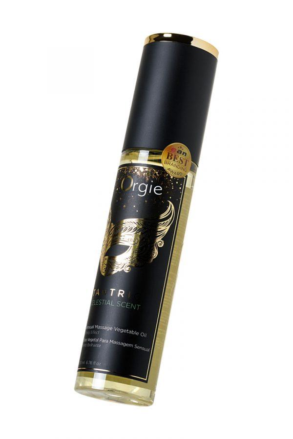 Растительное массажное масло Orgie Tantric celestial scent, 200 мл, Категория - Интимная косметика/Средства для массажа/Гели и масла, Атрикул 0T-00012905 Изображение 3