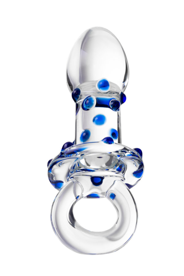 Анальная втулка Sexus Glass, Стекло, Прозрачный, 12,7 см, Категория - Секс-игрушки/Анальные игрушки/Анальные пробки и втулки, Атрикул 00138485 Изображение 3