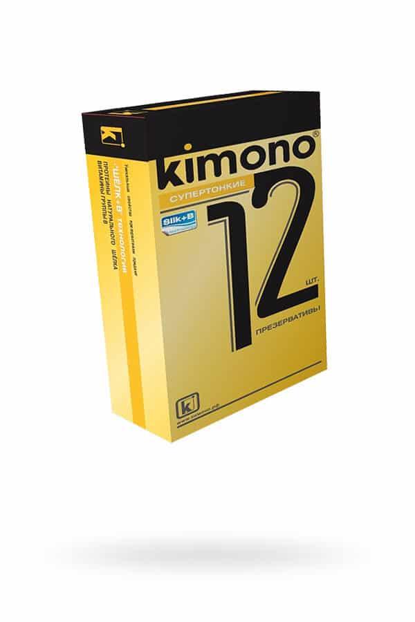 Презервативы КИМОНО супертонкие № 12, 1 шт., Категория - Презервативы/Классические презервативы, Атрикул 0T-00013153 Изображение 1
