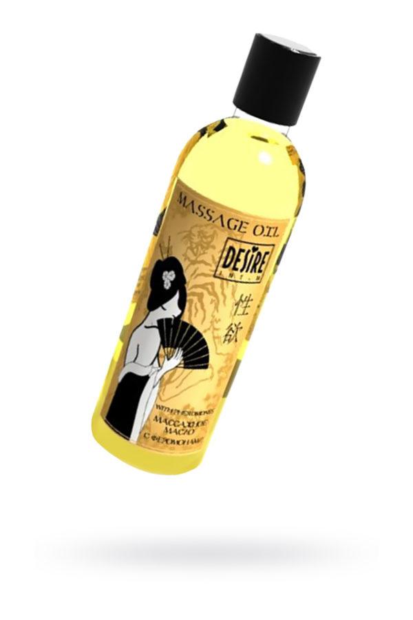 Масло для массажа Desire с феромонами 150мл, Категория - Интимная косметика/Средства для массажа/Гели и масла, Атрикул 00135708 Изображение 1
