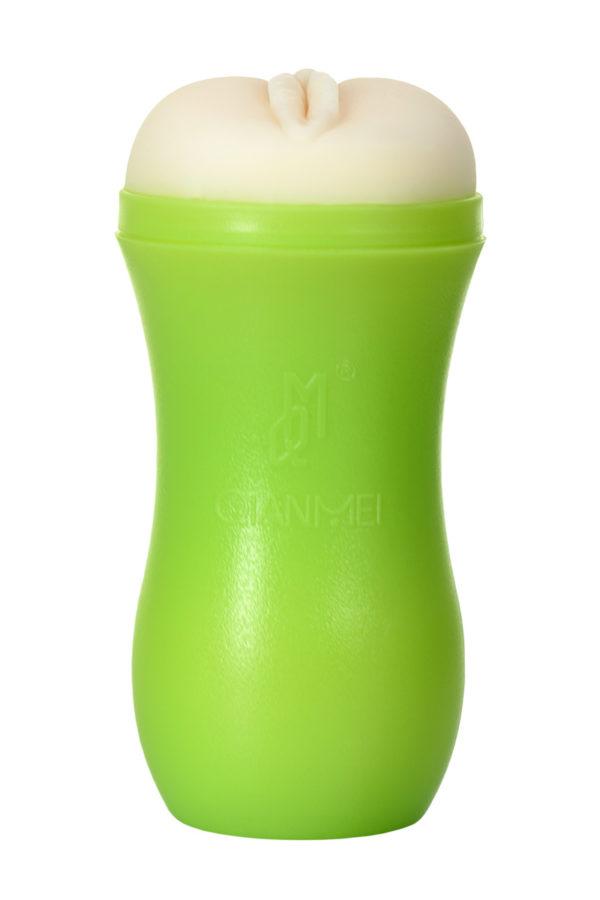 Мастурбатор TOYFA A-Toys, вагина, зеленый/телесный, 14 см, Категория - Секс-игрушки/Мастурбаторы/Реалистичные мастурбаторы, Атрикул 0T-00012205 Изображение 3