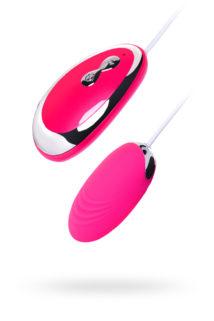 Виброяйцо TOYFA A-Toys  , Силикон, Розовый, 6,5 см, Категория - Секс-игрушки/Вибраторы/Виброяйца, Атрикул 0T-00012464 Изображение 1