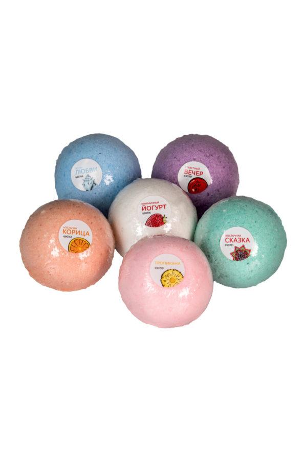 Бомбочка для ванны Штучки-дрючки ''Клубничный йогурт'', 118 г, упаковка 5 шт, Категория - Интимная косметика/Косметика для ванны и душа/Релакс-средства, Атрикул 0T-00013210 Изображение 2
