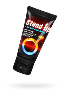 Крем STAND UP для мужчин серии Sex Expert, 25 г, Категория - Интимная косметика/Кремы для стимуляции и коррекции размеров/Кремы возбуждающие, Атрикул 0T-00013550 Изображение 1