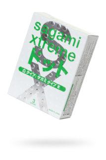 Презервативы латексные Sagami Xtreme Type-E №3, Категория - Презервативы/Классические презервативы, Атрикул 0T-00013643 Изображение 1
