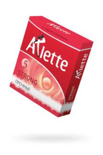 Презервативы ''Arlette'' №3, Strong Прочные 3 шт., Категория - Презервативы/Рельефные и фантазийные презервативы, Атрикул 0T-00014107 Изображение 1