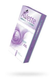 Презервативы ''Arlette Premium'' №6, Super XXL Увеличенные 6 шт, Категория - Презервативы/Рельефные и фантазийные презервативы, Атрикул 0T-00014106 Изображение 1