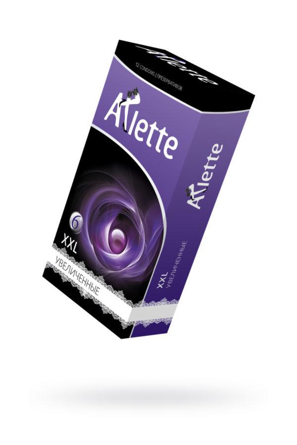 Презервативы ''Arlette'' №12, XXL Увеличенные  12 шт, Категория - Презервативы/Рельефные и фантазийные презервативы, Атрикул 0T-00014103 Изображение 1