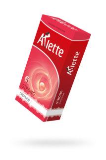 Презервативы ''Arlette'' №12, Strong Прочные 12 шт, Категория - Презервативы/Рельефные и фантазийные презервативы, Атрикул 0T-00014102 Изображение 1