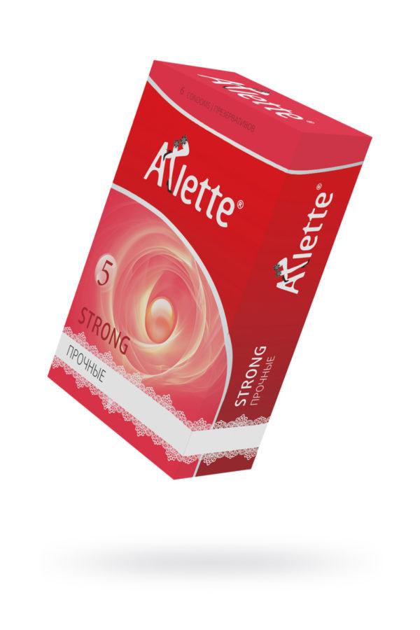 Презервативы ''Arlette'' №6, Strong Прочные 6 шт., Категория - Презервативы/Рельефные и фантазийные презервативы, Атрикул 0T-00014096 Изображение 1