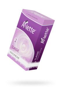 Презервативы ''Arlette'' №6, Classic Классические 6 шт., Категория - Презервативы/Рельефные и фантазийные презервативы, Атрикул 0T-00014093 Изображение 1