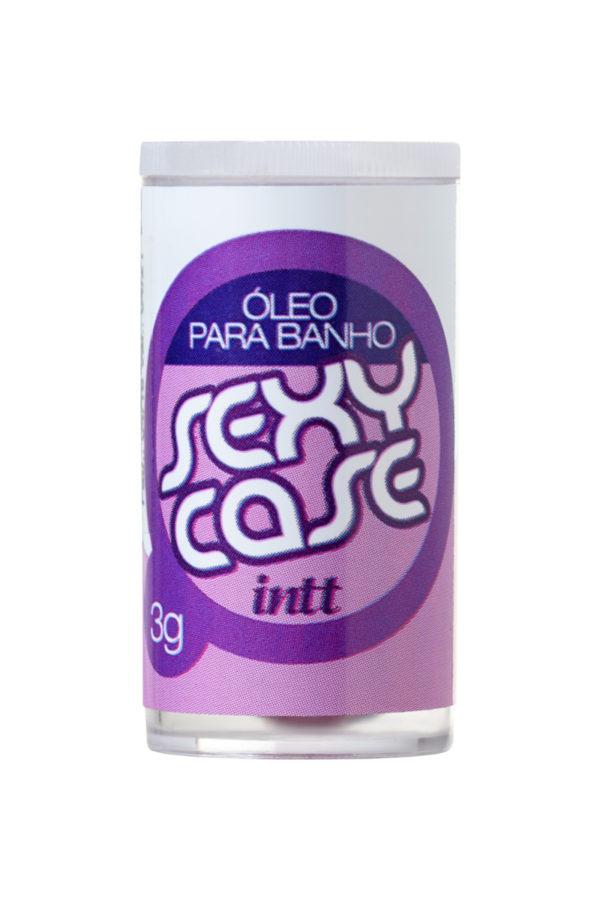 Масло для ванны и массажа в капсулах INTT SEXY CASE с ароматом Ck Be, 2 капсулы, 3 г, Категория - Интимная косметика/Средства для массажа/Гели и масла, Атрикул 0T-00013371 Изображение 2