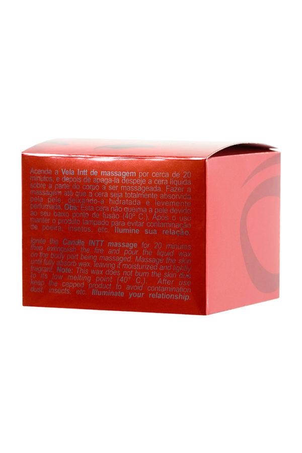 Массажная свеча INTT ALLUMER Vanilla с ароматом ванили, 90 г, Категория - Интимная косметика/Средства для массажа/Массажные свечи, Атрикул 0T-00013326 Изображение 3
