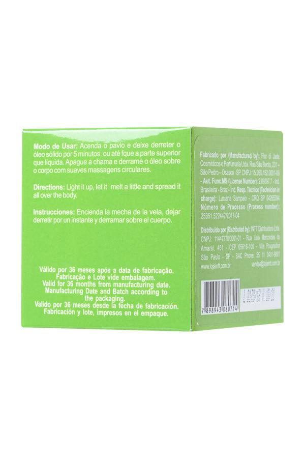 Массажная свеча для поцелуев INTT Caiprinha с ароматом лайма, 30 мл, Категория - Интимная косметика/Средства для массажа/Массажные свечи, Атрикул 0T-00013333 Изображение 3