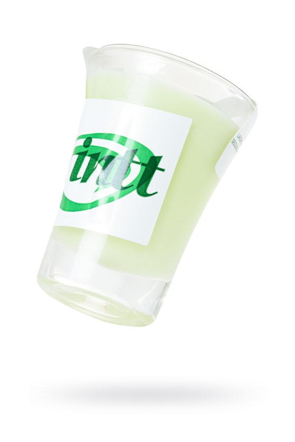 Массажная свеча для поцелуев INTT Mint с ароматом мяты, 30 мл, Категория - Интимная косметика/Средства для массажа/Массажные свечи, Атрикул 0T-00013332 Изображение 1