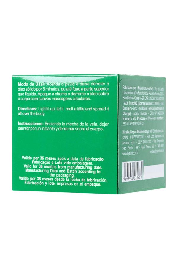 Массажная свеча для поцелуев INTT Mint с ароматом мяты, 30 мл, Категория - Интимная косметика/Средства для массажа/Массажные свечи, Атрикул 0T-00013332 Изображение 3