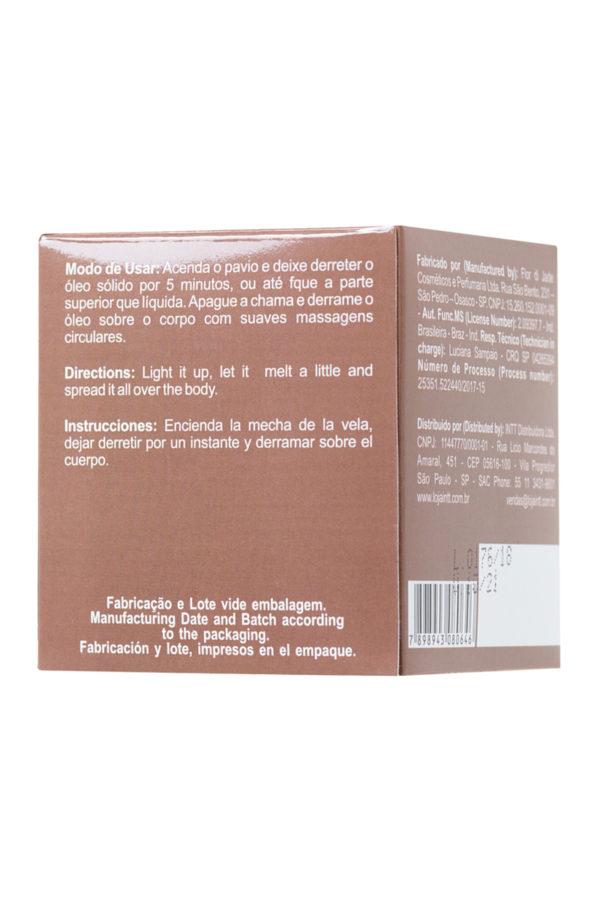 Массажная свеча для поцелуев INTT Nutella с ароматом «Нутеллы», 30 мл, Категория - Интимная косметика/Средства для массажа/Массажные свечи, Атрикул 0T-00013329 Изображение 3
