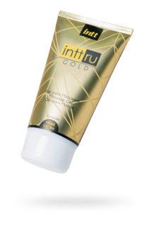 Массажный гель INTT RU Gold с цветочным ароматом, 150 мл, Категория - Интимная косметика/Средства для массажа/Гели и масла, Атрикул 0T-00013348 Изображение 1