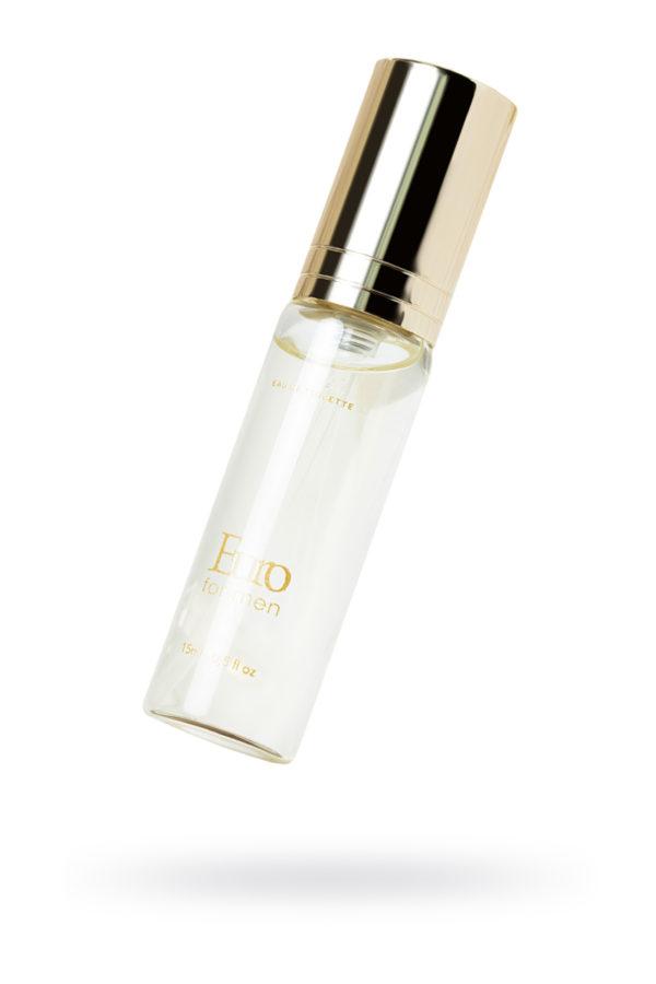 Парфюмерная вода INTT EURO с высоким содержанием афродизиаков для мужчин, 15 мл, Категория - Интимная косметика/Косметика с феромонами/Духи с феромонами, Атрикул 0T-00013363 Изображение 1