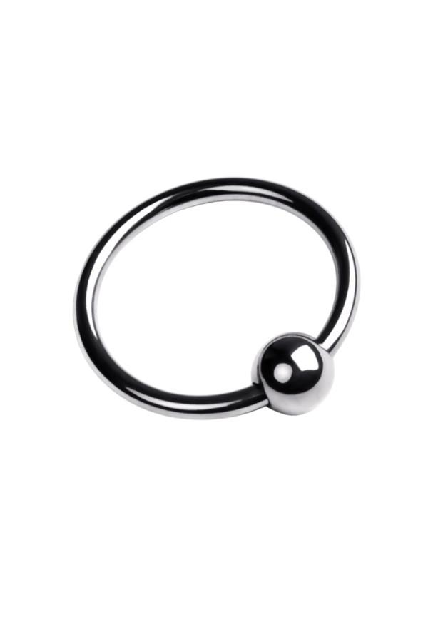 Кольцо на головку пениса, TOYFA Metal, серебристое, Категория - Секс-игрушки/Кольца и насадки/Кольца на пенис, Атрикул 0T-00009559 Изображение 2