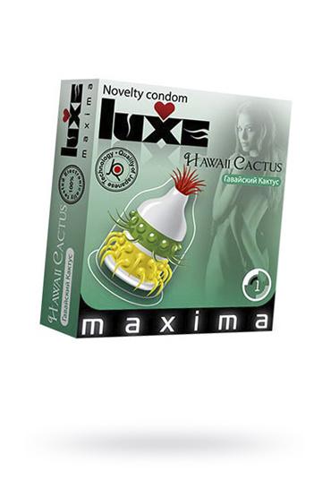 Презервативы Luxe Maxima Гавайский Кактус №1, Категория - Презервативы/Рельефные и фантазийные презервативы, Атрикул 0T-00010911 Изображение 1