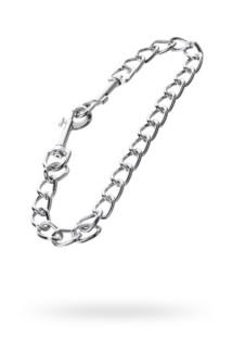 Соединительная цепочка, TOYFA Metal, серебристая, Категория - БДСМ, фетиш/Фиксация и бондаж/Зажимы для сосков, Атрикул 0T-00012171 Изображение 1