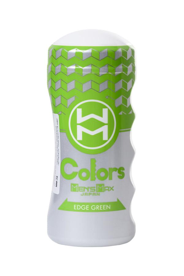 Мастурбатор нереалистичный, Colors Edge Green MensMax, TPE, Категория - Секс-игрушки/Мастурбаторы/Нереалистичные мастурбаторы, Атрикул 0T-00013575 Изображение 3