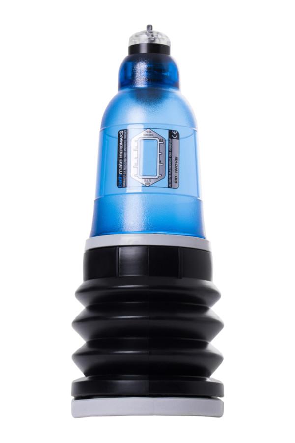 Гидропомпа Bathmate HYDROMAX3, ABS пластик, голубая, 22 см, Категория - Секс-игрушки/Помпы/Помпы для пениса, Атрикул 0T-00014697 Изображение 2