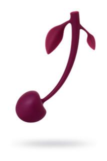 Вагинальный шарик JOS CHERRY, силикон, вишневый, Ø 3,4 см, Категория - Секс-игрушки/Вагинальные шарики и тренажеры интимных мышц/Вагинальные шарики, Атрикул 0T-00014577 Изображение 1
