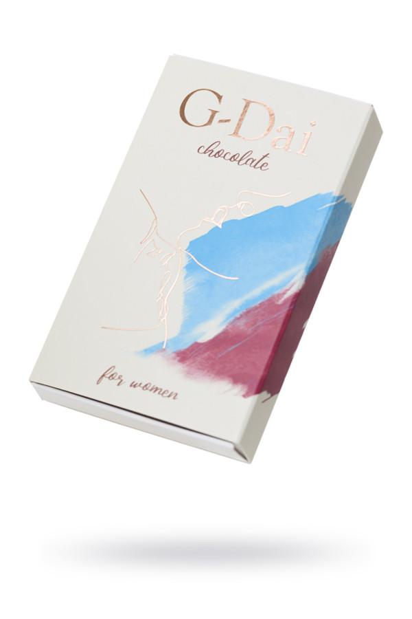 Возбуждающий шоколад для женщин ''G-Dai'', 15 гр, Категория - БДСМ, фетиш/БАДы/БАДы для женщин, Атрикул 0T-00015330 Изображение 1
