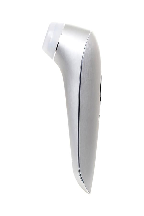 Вакуум-волновой бесконтактный стимулятор клитора Satisfyer Luxury High Fashion, алюминий+силикон, серебристый, 17.2 см, Категория - Секс-игрушки/Стимуляторы клитора и наружных интимных зон/Вакуумные стимуляторы клитора, Атрикул 0T-00014289 Изображение 3
