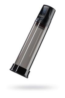 Автоматический вакуумный тренажер для мужчин Erotist ToZoom, ABS пластик, чёрный, 28,5 см, Категория - Секс-игрушки/Помпы/Помпы для пениса, Атрикул 0T-00015409 Изображение 1