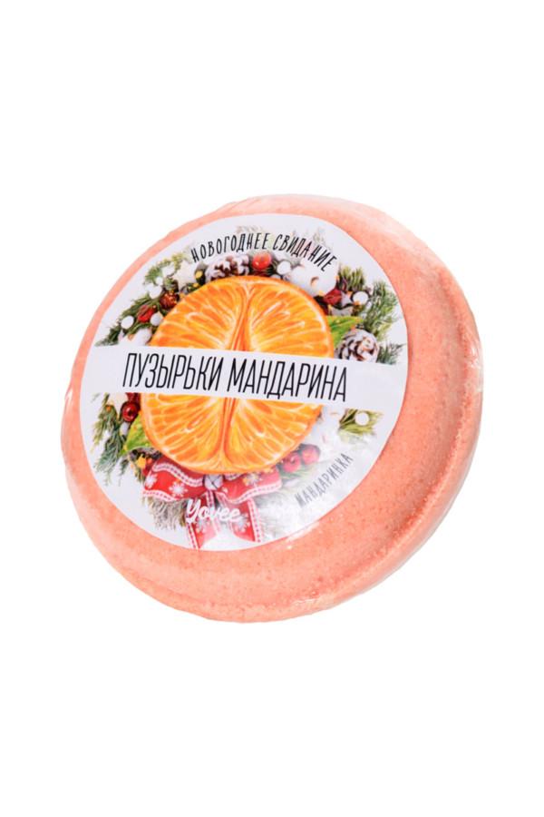 Бомбочка для ванны Yovee by Toyfa «Пузырьки мандарина», с ароматом мандарина, 70 г, Категория - Интимная косметика/Косметика для ванны и душа/Релакс-средства, Атрикул 0T-00015532 Изображение 2