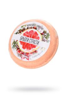 Бомбочка для ванны Yovee by Toyfa «Брызги страсти», с ароматом грейпфрута и пачули, 70 г, Категория - Интимная косметика/Косметика для ванны и душа/Релакс-средства, Атрикул 0T-00015536 Изображение 1