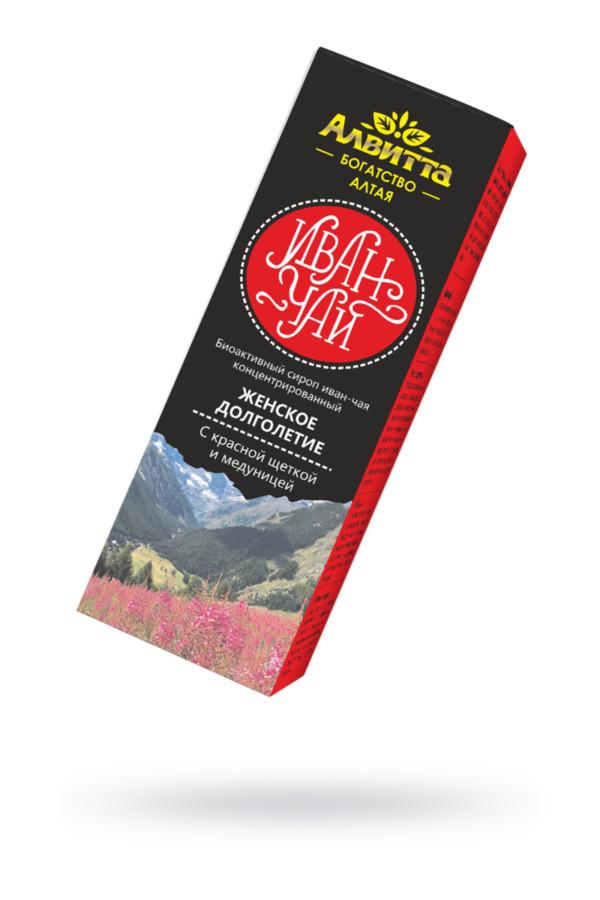 Сироп иван-чая с красной щёткой и медуницей ''Женское долголетие'' 200 мл, Категория - БДСМ, фетиш/БАДы/БАДы для женщин, Атрикул 0T-00015542 Изображение 1