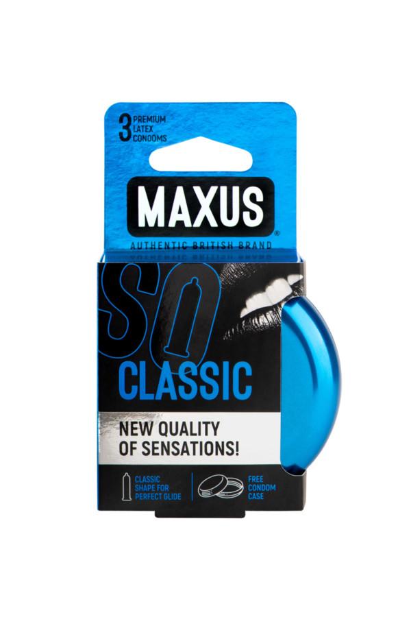 Презервативы MAXUS Классические в железном кейсе № 3, 18 см, Категория - Презервативы/Классические презервативы, Атрикул 0T-00015456 Изображение 2