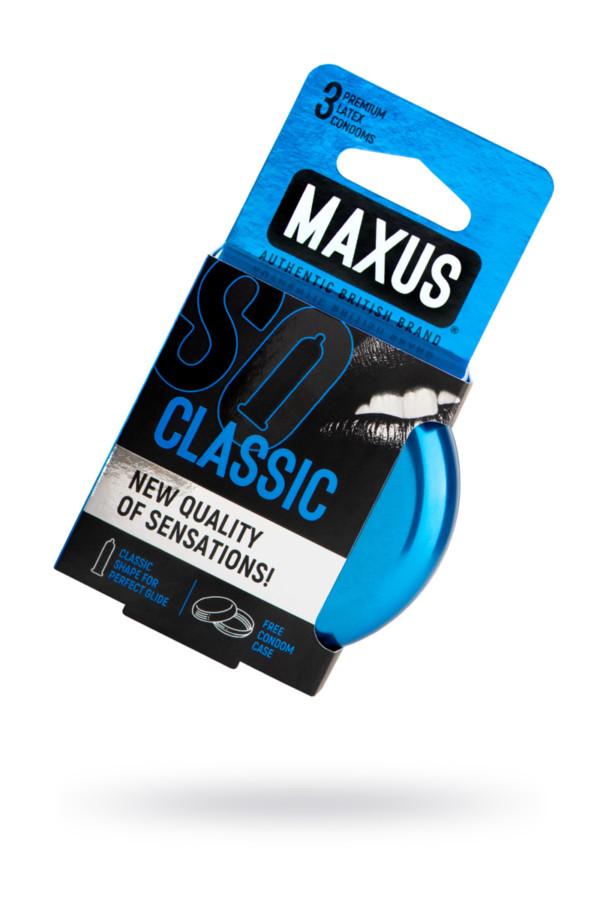 Презервативы MAXUS Классические в железном кейсе № 3, 18 см, Категория - Презервативы/Классические презервативы, Атрикул 0T-00015456 Изображение 1