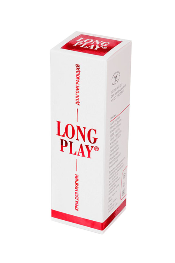 Крем пролонгатор Long play для мужчин, 15 мл, Категория - Интимная косметика/Кремы для стимуляции и коррекции размеров/Кремы-пролонгаторы, Атрикул 0T-00015654 Изображение 3