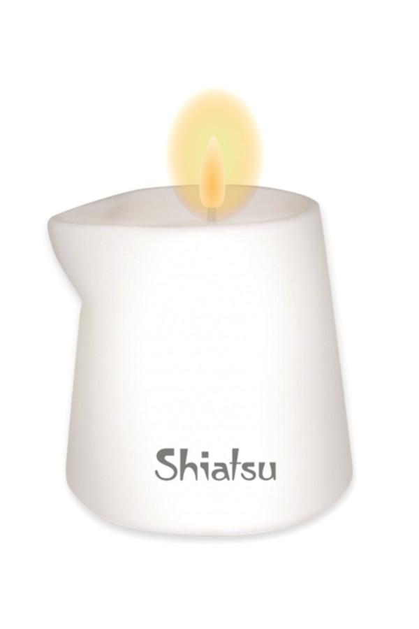 Массажная свеча HOT Shiatsu с ароматом Амбры, 130 мл, Категория - Интимная косметика/Средства для массажа/Массажные свечи, Атрикул 0T-00015060 Изображение 3