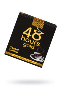 Растворимый кофе 48 hours gold 20гр, Категория - БДСМ, фетиш/БАДы/БАДы унисекс, Атрикул 0T-00015687 Изображение 1