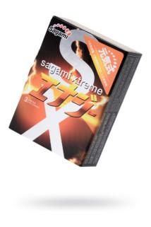 Презервативы латексные Sagami Xtreme Energy №3, 19 см, Категория - Презервативы/Классические презервативы, Атрикул 0T-00015764 Изображение 1