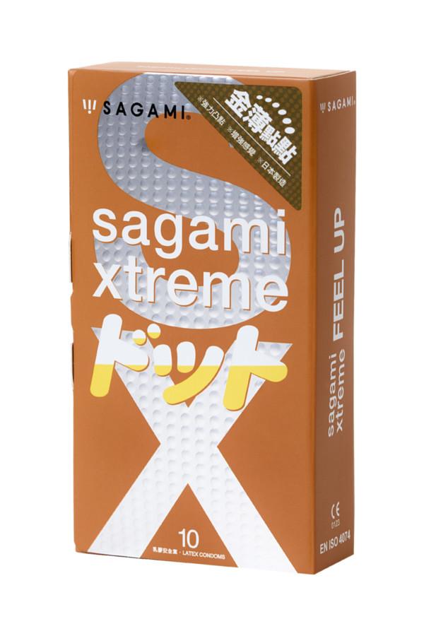 Презервативы латексные Sagami Xtreme Feel Up №10, 19 см, Категория - Презервативы/Классические презервативы, Атрикул 0T-00015768 Изображение 2