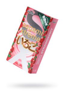 Презервативы латексные Sagami Xtreme Strawberry №10, 19 см, Категория - Презервативы/Классические презервативы, Атрикул 0T-00015771 Изображение 1