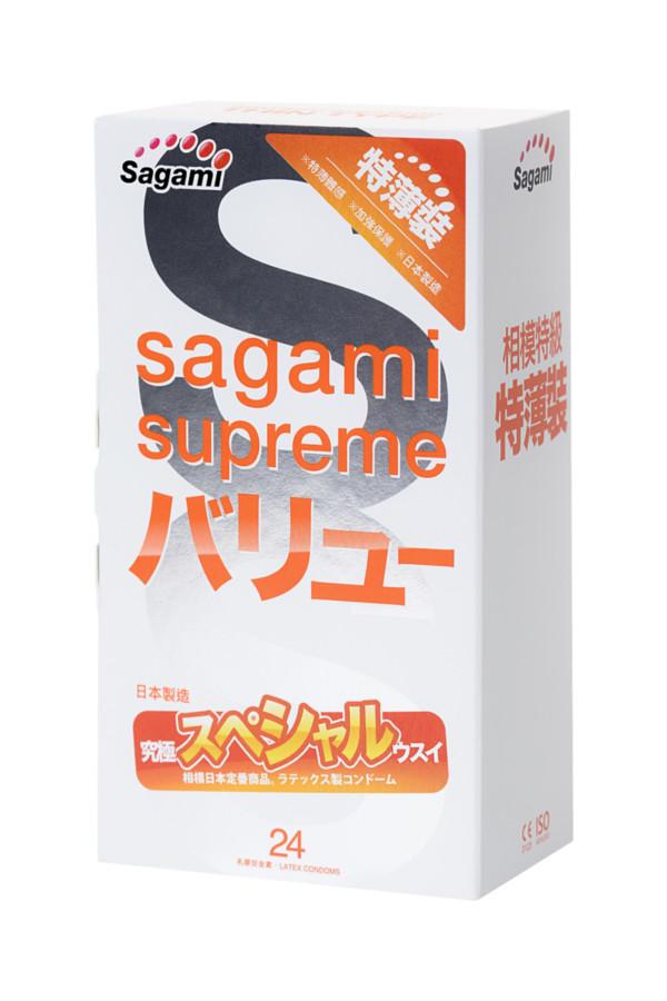 Презервативы латексные Sagami Xtreme №24, 19 см, Категория - Презервативы/Классические презервативы, Атрикул 0T-00015772 Изображение 2