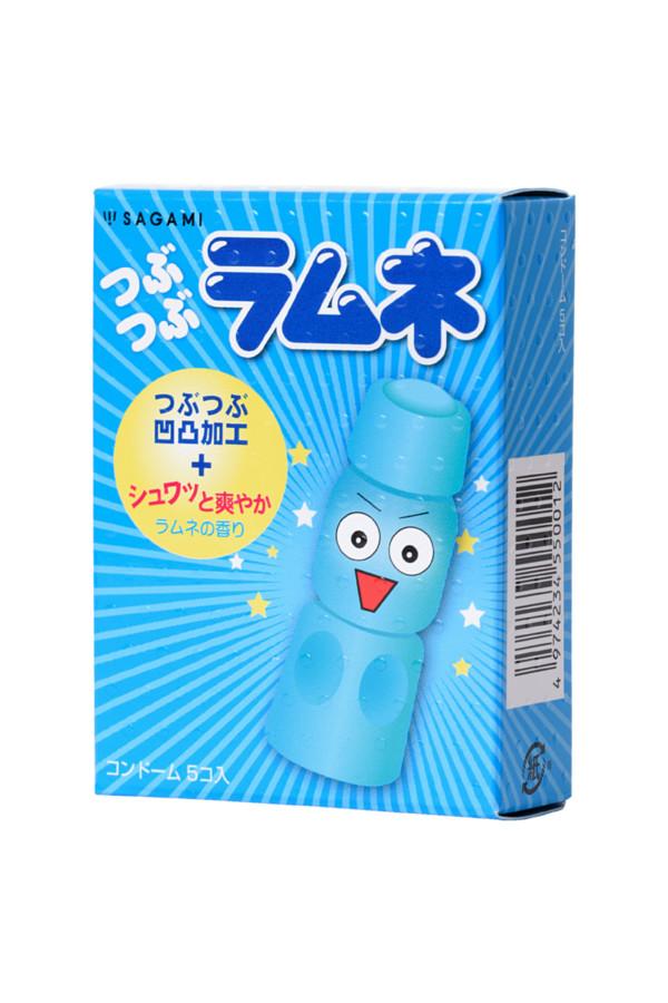 Презервативы латексные Sagami Lemonade №5, 19 см, Категория - Презервативы/Классические презервативы, Атрикул 0T-00015773 Изображение 2