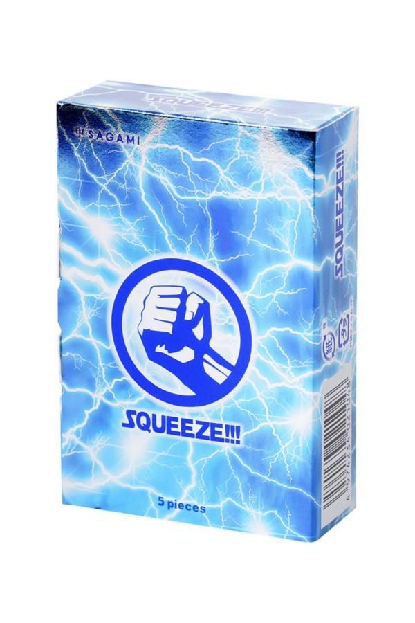 Презервативы латексные Sagami Squeeze №5, 19 см, Категория - Презервативы/Классические презервативы, Атрикул 0T-00015774 Изображение 2
