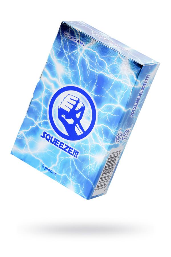 Презервативы латексные Sagami Squeeze №5, 19 см, Категория - Презервативы/Классические презервативы, Атрикул 0T-00015774 Изображение 1